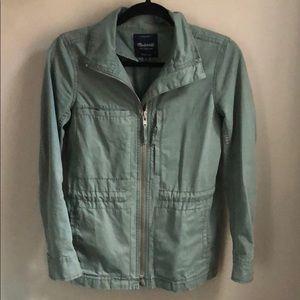 Madewell Fleet Jacket in Meadow Green
